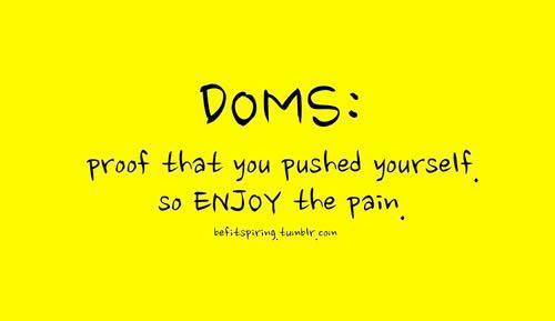 Image result for DOMS
